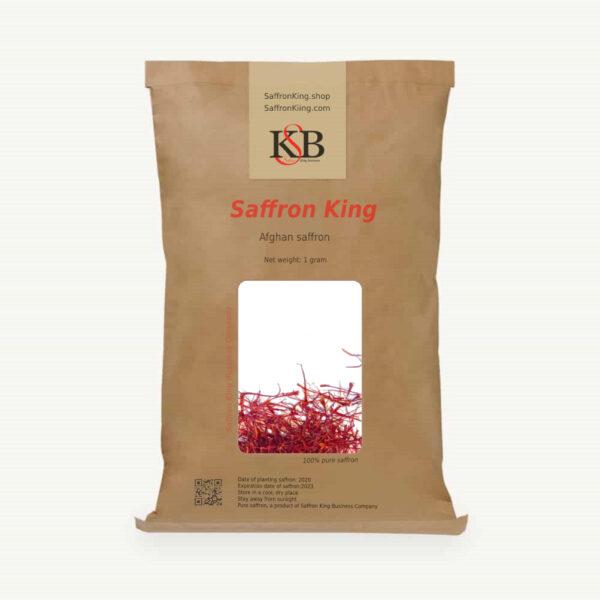Afghan saffron net weight 1 gram
