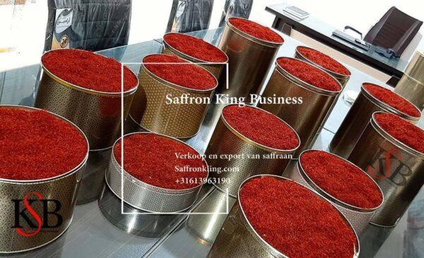 Price per kilo of saffron in tonnage